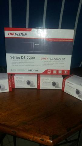 Original kit 4 câmeras turbo hd acesso celular