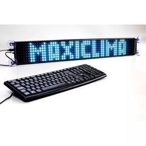 Painel led luminoso display letreiro para caminhão