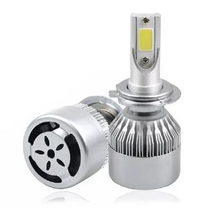 Par lampada led farol 72w 8200 lumens 6000k super branca