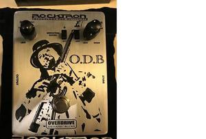Pedal over drive rock tron odb blues