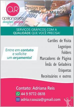 Serviços gráficos - designer gráfico freelancer