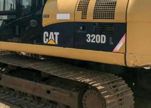 Escavadeira hidraulica esteira 320d-l cartepillar ano 2011