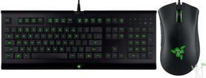 Kit gamer razer teclado razer cyclosa + mouse razer abyssus