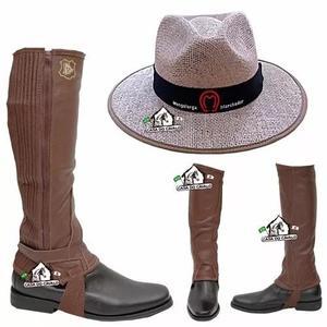 Perneira sanfonada e chapéu mangalarga marchador 687e1667960