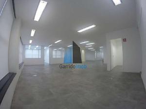 Sala comercial para alugar, 324 m² por r$ 21.500/mês