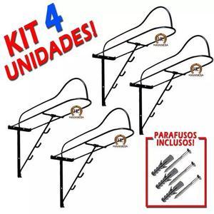 Suporte sela kit 4 un + parafusos promocao