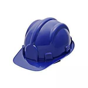 3809a9290ca32 Capacete de segurança epi plastcolor azul classe a b