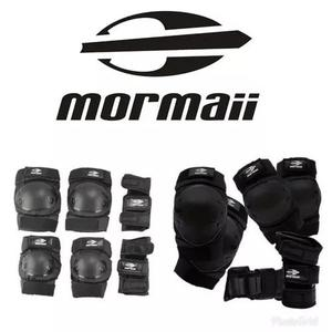 Kit proteção, mormaii, segurança, skate, bike, patins.