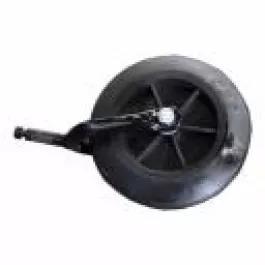 Roda com garfo (biruta) p/cadeira de roda e banho aro-6