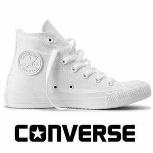 094732f34d3 Tênis converse all-star botinha monochrome lona branco