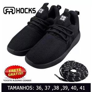 983b230d99c Tênis hocks galáctica black preto sneaker skate original