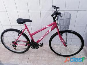 Bicicleta aro 26 feminina com marchas