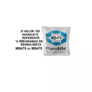 2 resina mista mb478 purolite 600 gramas cada pacote
