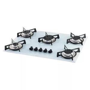 Fogao cooktop fischer fit line 5 bocas acendiment automatico