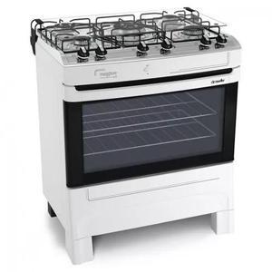 Fogão mueller maggiore grill 5 bocas com acendimento
