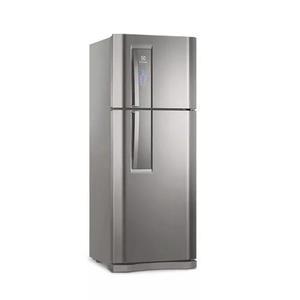 Refrigerador electrolux 2 portas frost free 427l inox df53x