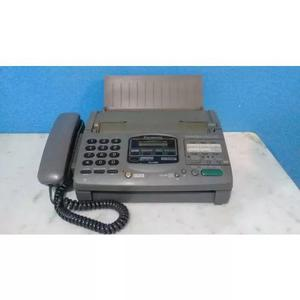 Aparelho de fax panasonic kx-f890 funcionando + manual pdf