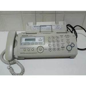 Aparelho de fax panasonic kx-fp218br usado secretária eletr