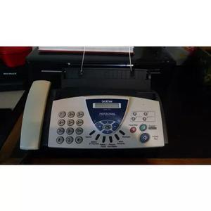 Aparelho de fax para papel comum brother fax-575