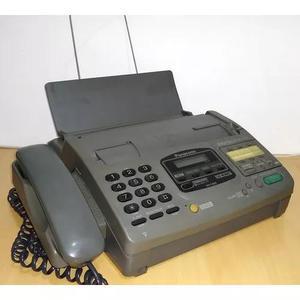 Aparelho de telefone e fax panasonic kx-f890