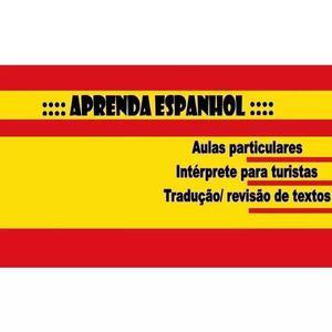 Aulas de espanhol nativo online