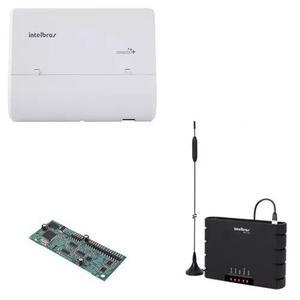 Central intelbras conecta + 2/8 + interface celular + disa