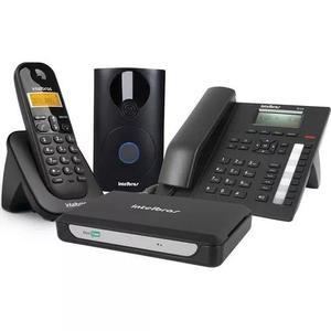 Central telefone s/fio exec, porteiro minicon plus intelbras