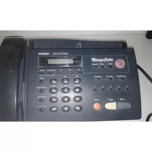 Fax brother 270mc messagecenter reliquia,