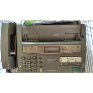 Fax digital panasonic com 1 rolo de papel térmico para fax