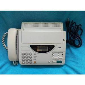Fax telefone panasonic kx f500 bege b