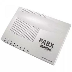 Multitoc central pabx 308 micro 3 linhas 8 ramais