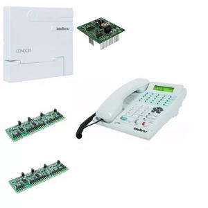 Pabx conecta 2-8 intelbras com terminal inteligente ti 830i