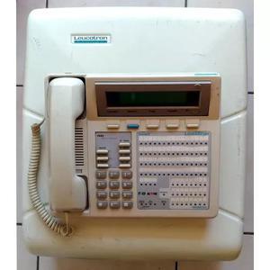 Pabx leucotron telecom active sds + terminal + fax kx-f130