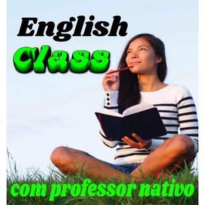 Professor de inglês nativo do canadá. aulas 100%