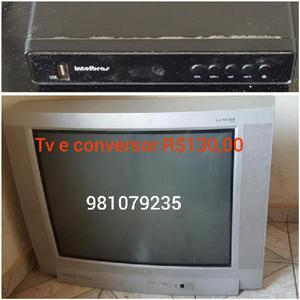 TV Toshiba com conversor