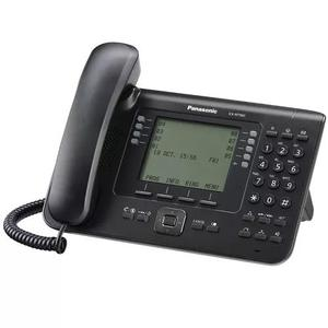 Telefone ip proprietário panasonic kx-nt560x-b