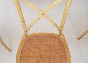 Mesa redonda madeira maciça
