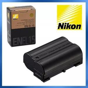 Bateria nikon en-el15 original d7000 d7100 d600 d800