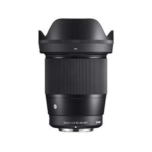 Lente sigma 16mm f/1.4 sony a6000 a6300 a6500 a6600