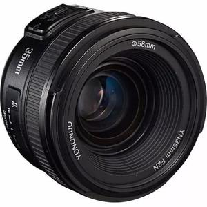 Lente yongnuo 35mm f/2g - nikon autofoco novo