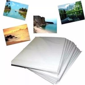 700 fls papel foto glossy brilho 120g (ou 115g a4) oferta