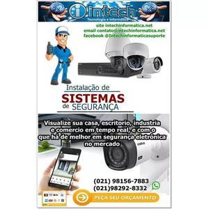 Cameras de segurança com instalação