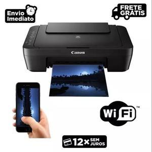 Canon multifuncional canon colorida mg3010 c/ wi-fi