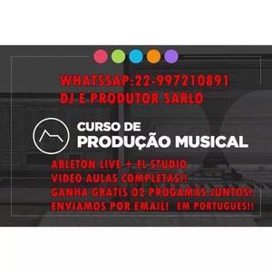 Curso de producao musical e mixag