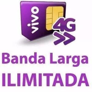 Internet ilimitada vivo 4g