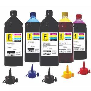 Kit 5 litros tinta epson impressora l355 l365 l375 l395
