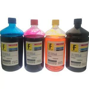 Kit recarga epson 4 litros impressora l355 l365 l375 l395