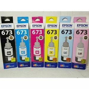 Kit refil epson original l800 / l805 / l810 / l1800