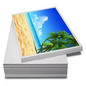 Papel fotográfico 180g glossy a4 à 480 folhas pr