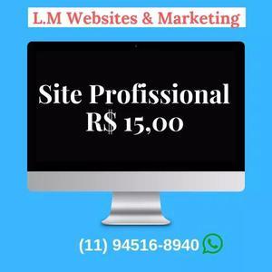 Site profissional - loja virtual